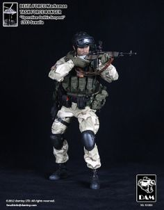 onesixthscalepictures: DAM Toys Delta Force Marksman : Latest product news for 1/6 scale figures (12 inch collectibles) from Sideshows Colle...