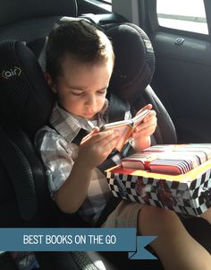 Best books sets to keep kids entertained in the car
