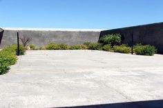 Go to Jail for a Day: Courtyard Garden at Robben Island, South Africa. Photo by freedom-studios