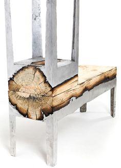 raw wood & hot metal #2