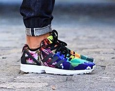 adidas ZX Flux weave full color