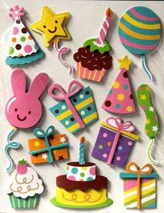13 Birthday, Birthday Celebration, Birthday Cards, Scrapbook Supplies, Scrapbook Pages, Foam Sheet Crafts, Diy And Crafts, Crafts For Kids, Foam Sheets