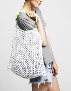 Milo Beach Bag | Knit it | woolandthegang.com