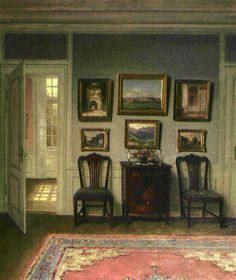William Henriksen (Danish, 1880–1964) - Interior