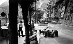 Immagine1960 Monaco GP, Monte Carlo : Dan Gurney, BRM P48 #4, Owen Racing, Retired