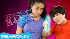 Disappearing Pencil Eraser Tricks | JUNK DRAWER MAGIC