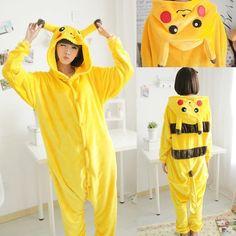 Pokemon Pikachu Sleepwear Pajamas