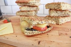 Another new way to enjoy our 6 Australian Seeds mix. A perfect High Protein addition to your lunch or dinner. To be honest, you can enjoy this ANYTIME in place of bread. Low Carb Recipes, Bread Recipes, Protein Bread, High Protein, Breads, Sandwiches, Keto, Lunch, Dinner