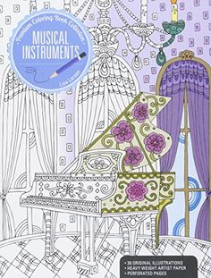 Musical Instruments A Premium Coloring Book Col