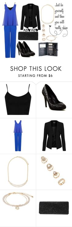 """""""Black Tie Wedding Guest Look For Autumn + Video!"""" by ladylikecharm ❤ liked on Polyvore featuring Mode, Topshop, ALDO, Damsel in a Dress, Forever 21 und Nina"""