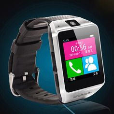 Luxury Bluetooth Smart Watch Wrist Wrap Watch GV08 Phone for IOS Apple iphone 4 4S 5 5C 5S Android Samsung S2 S3 S4 S5 Note 2 Note 3 HTC(Black). 100% new with high quality. GSM Cell Phone, Bluetooth Dialer & Bluetooth Headset, Music Player, FM Radio, Camera, Alarm Clock, Watch, Pedometer, Bluetooth push, Calculator, Compass, Seep monitoring. Notes: This watch can't take picture, send wechat message for the IOS system. GSM & Bluetooth Smartwatch with Touch Screen Lasts multiple days on a...