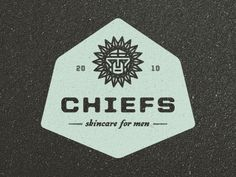 Dribbble - Chiefs Skincare Logo by Tim Boelaars