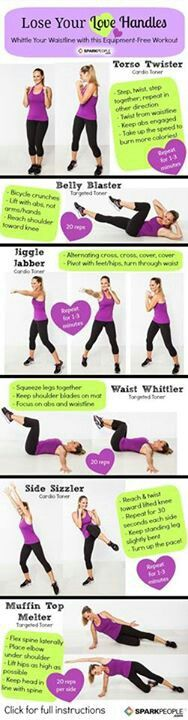 Love handle workout... definitely need this!