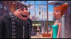 """Gru - O Maldisposto 2"""" - Clip Gru apresenta Lucy às meninas ..."""