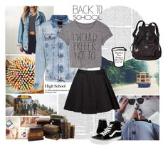 """Back to school."" by lauraastyle ❤ liked on Polyvore"
