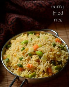 Learn about indian chinese cuisine here. Lunch Recipes Indian, Vegetarian Rice Recipes, Indo Chinese Recipes, Vegetable Recipes, Healthy Dinner Recipes, Cooking Recipes, Ethnic Recipes, Fried Rice Recipe Indian, Thandai Recipes