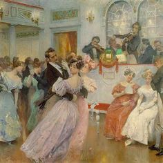 The Ball by Charles Wilda, 1906
