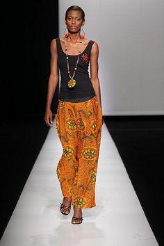 Mustafa hassanali (Arise africa fashion week 2009)