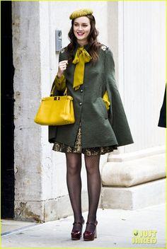 Gossip Girl! Love this look!