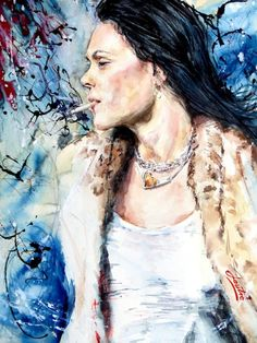 Beth Hart - painting #1
