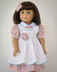 Vintage Easter Dress No. 1 by AnnasGirls on Etsy
