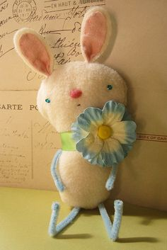 Manon - anew summer bunny from Sweet Pea illustrations