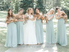Inspiração do dia:A noiva Sarah Mallouck Crain optou por cachorros na sua cerimônia! Os padrinhos e madrinhas entraram com os filhotes que foram resgatados nos Estados Unidos. Lindo, não é mesmo?👰❤️😘🐶📷: @ carolineloganphoto  #headpieces #bridalheadpieces #acessoriosparacabelo #acessoriosparanoivas #wedding #casamento #bride #love #mercedesalzueta #handmade #noiva #instabride #inspiracao #cachorro #dog #weddingdog  #brideoftheday #noivadodia #bride #noiva #noivareal #realbride…