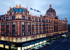 Harrods is the definition of perfect. I remember going there everyday just to look around, so unbelievable.