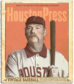 1860s-era baseball in Houston