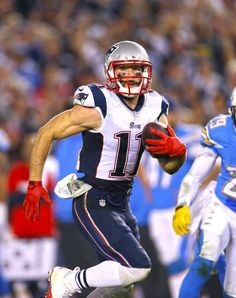 Julian Edelman set a career-high with a 69 yard TD #NEvsSD...and I was there!!!