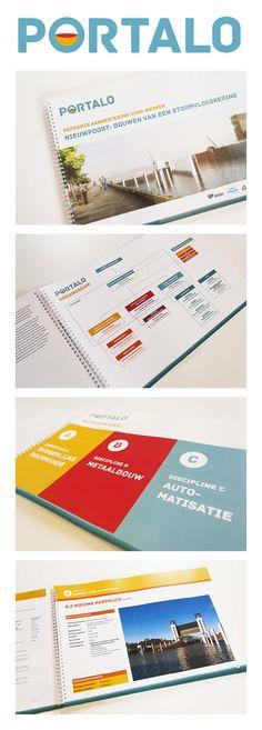 Ontwerp van logo, huisstijl en dossier voor Besix