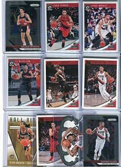 Portland Trail Blazers Assorted Basketball Cards 10 Card Lot Hunting Hat, Hunting Clothes, Softball, Baseball, Bow Cases, Nba Merchandise, Nba Store, Portland Trailblazers, Trail Blazers