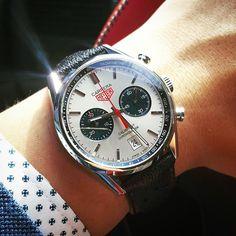 Carrera Calibre 17 Chronometer by @limbranden #tagheuer #heuer #tagheuercarrera #heuercarrera #carrera #chronometer #calibre11