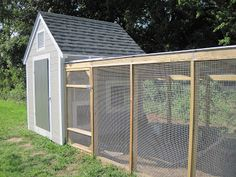 The Brown Book: Chesapeake Bay Chicken Coop like this