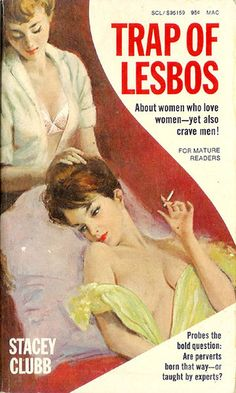 lesbian pulp fiction Toys and Treats for Women Who Love Women Vintage Lesbian, Lesbian Art, Archie Comics, Caricatures, Pulp Fiction Book, Pulp Magazine, Vintage Book Covers, Up Book, Book Cover Art