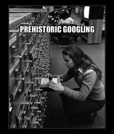 Prehistoric Googling! Lol!