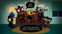 Night In The Woods is an indie game made by Alec Holowka (Aquaria Towerfall) and myself. We are currently kickstarting it here so go throw us some change if you are so inclined!