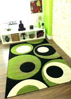 Lime Green Rug Brown And Area Rugs