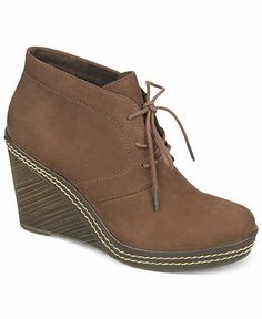 MUST find in an 11!  Dr. Scholl's Bethany Wedge Booties - Boots - Shoes - Macy's