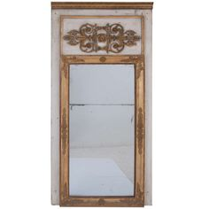 French 19th Century Louis XVI Trumeau   From a unique collection of antique and modern trumeau mirrors at http://www.1stdibs.com/furniture/mirrors/trumeau-mirrors/