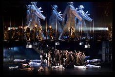 Otello from Viaamse Opera Antwerp. Production by Guy Joosten. Sets by Roni Toren.