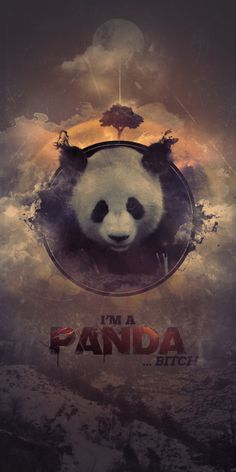 I'm A Panda by Everlong Design
