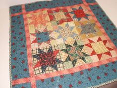 Carly's miniature doll quilt
