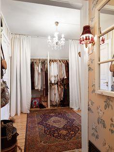 Scandinavian closet