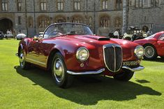 One of the most beautiful and efficient Italian cars of the 50s, the 1955 Lancia Aurelia B24