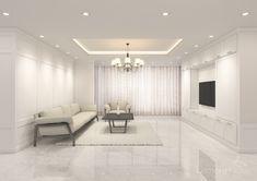 Ceiling Design Living Room, Bedroom False Ceiling Design, Living Room Decor Cozy, Elegant Living Room, Home Room Design, Dream Home Design, Home Design Plans, Living Room Modern, Living Room Designs