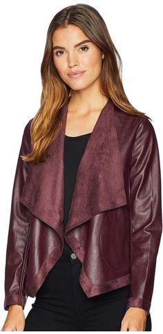 BB Dakota Teagan Reversible Vegan Leather Jacket Coats For Women, Jackets For Women, Clothes For Women, Drape Front Jacket, Vegan Leather Jacket, Bomber Jacket, Feminine, Ruffle Blouse, Steve Madden