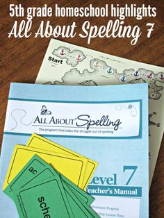 We LOVE the All About Spelling series from All About Learning Press. We've used every book - come and take a peek at the last book in this fabulous homeschool spelling program.
