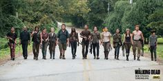Warning: The Walking Dead Season 7 spoilers ahead.It's time to cross a few names off your dead list for the first half of The Walking Dead Sea. The Walking Dead Saison, Walking Dead Quotes, Walking Dead Series, Walking Dead Season, Fear The Walking Dead, Rick Grimes, Andrew Lincoln, Zec Efron, The Walk Dead