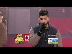 One Direction performs Kiss You on Good Morning America